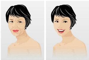 黑脸娃娃的维持时间 令肌肤恢复原有的弹性