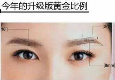 眉毛整形适应哪些眉形  彻底去除不理想眉形