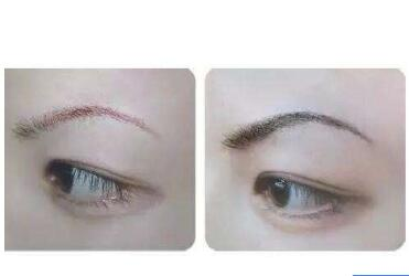 纹眉后的效果看起来真实吗  做真正的素颜女神