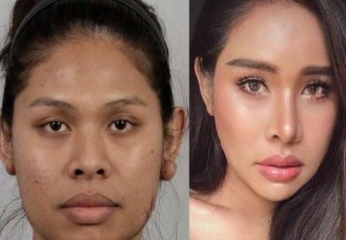 泰国女子Nilu整容后秒变大美女 整形前又黑又丑