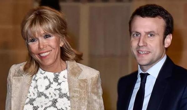 法国第一夫人整容 恢复得也很好脸上完全没有手术痕迹