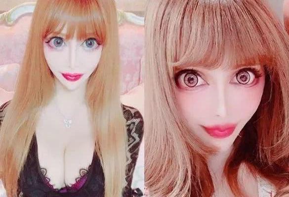 日本女艺人Vanilla整容成蛇精脸 分享整容心得成为爆红性话题