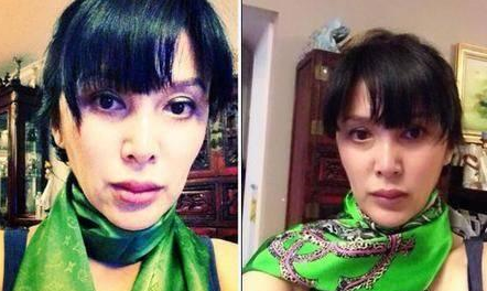 萧蔷49岁整容后遗症 难以掩盖皱纹历历在目