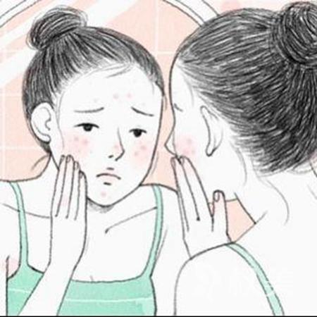 重庆长寿区人民医院有没有弄掉脸上痘印的科